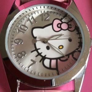 Hello Kitty Watch & Beanie Gift Set